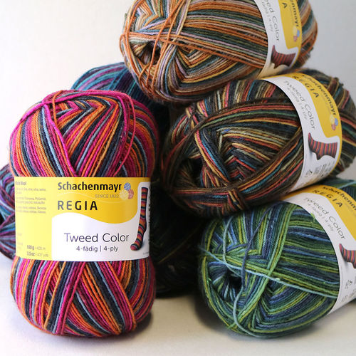 Regia Tweed Color 4-ply